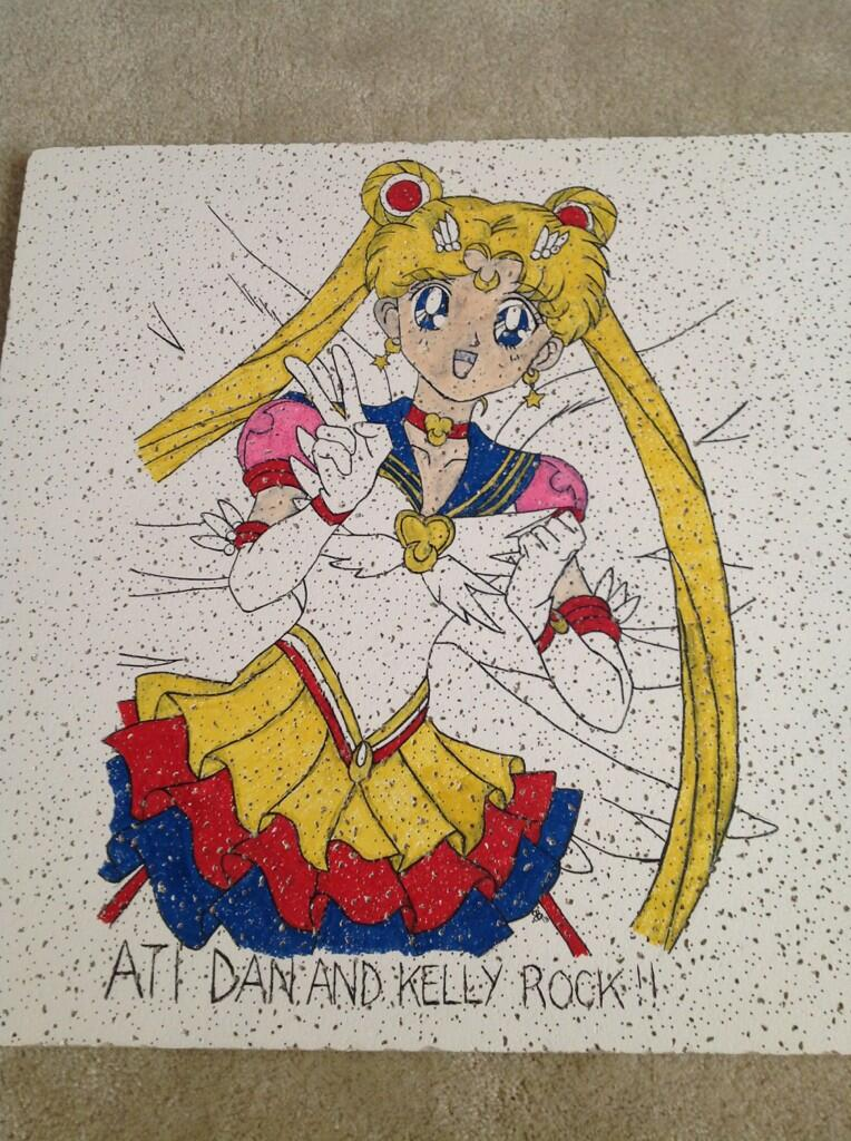 Sailor Moon Tile